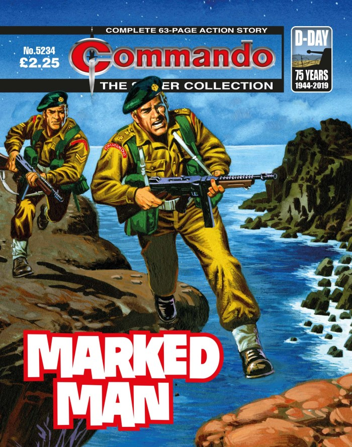 Commando 5234 -  Silver Collection: Marked Man