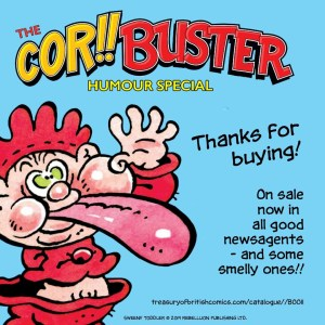 Cor!! & Buster Humour Special Promo