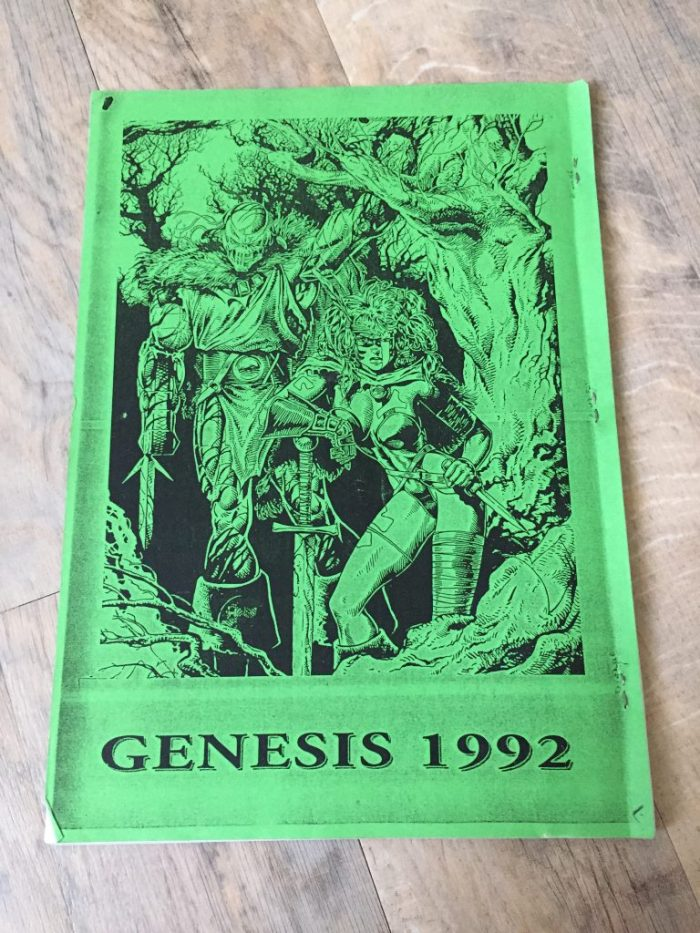Marvel UK Genesis 1992 Booklet