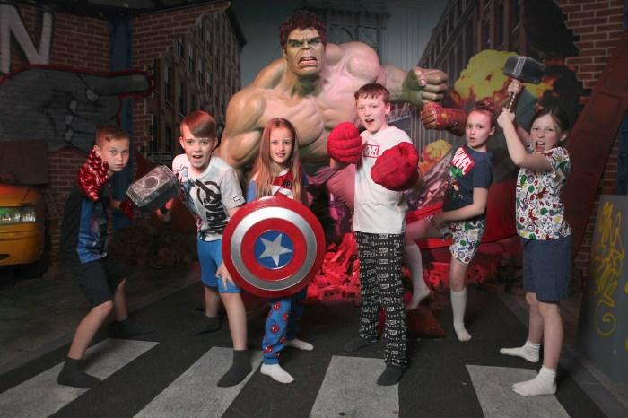 Madame Tussauds Blackpool's Marvel Super Hero Sleepover 2019