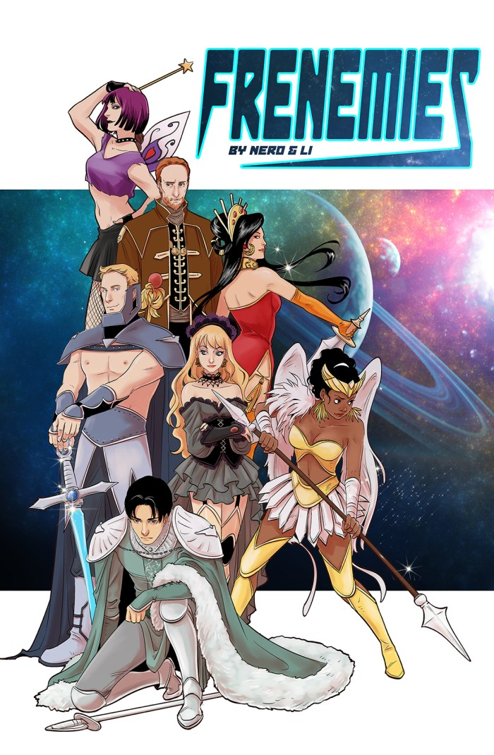 Frenemies: The Lost Planet by Monty Nero and Yishan Li