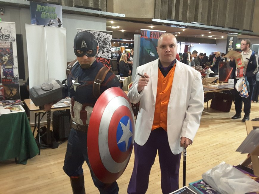 Oldham Comic Con 3 - Cosplayers