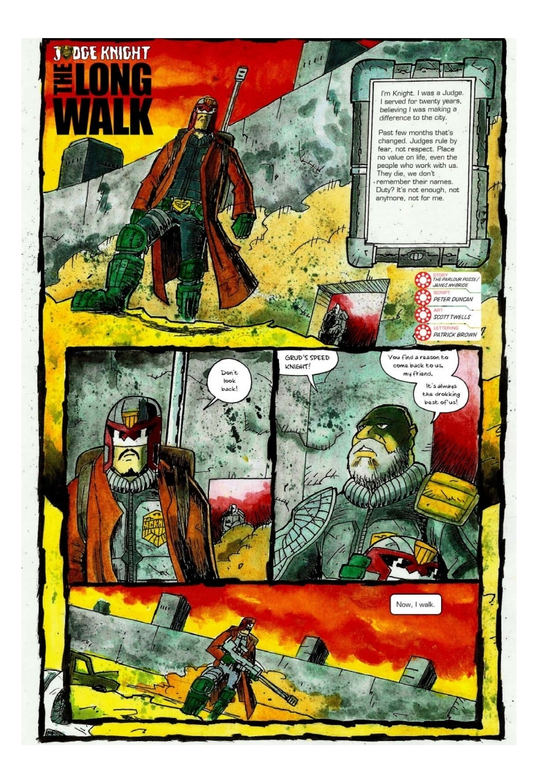 Sector 13 Issue 5 - The Long Walk