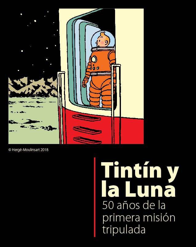 Tintin y la Luna Exhibition - CosmoCaixa, Barcelona
