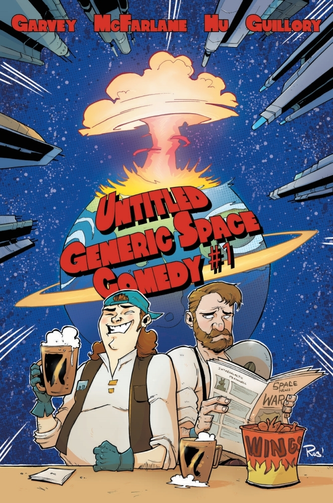 Untitled Generic Space Comedy #1 - Cover