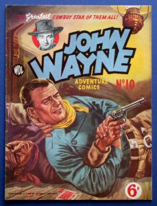 WDL John Wayne adventure comics