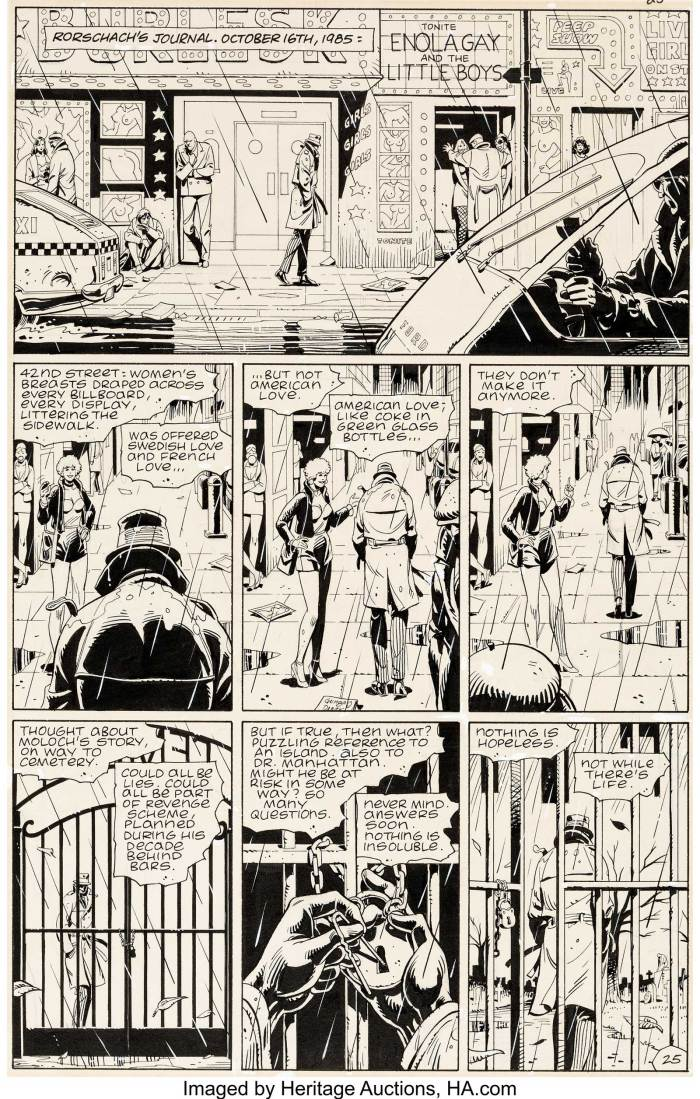 Watchmen #2 Page 25 by Dave Gibbons