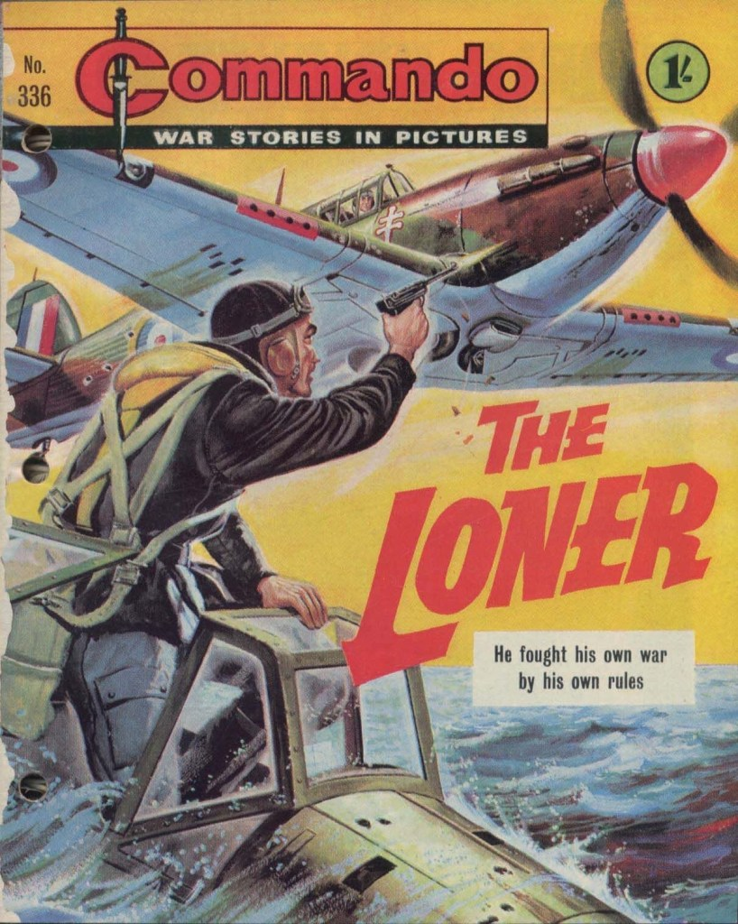 """""""The Loner"""", published back in 1968, was Mary Feldwick's first story for Commando - one of the comic's few female authors until now"""