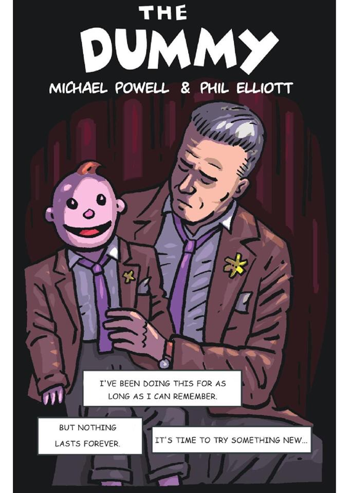 """""""The Dummy"""" by Michael (Mike) Powell and Phil Elliott, which first appeared in """"Bad Vibes"""""""