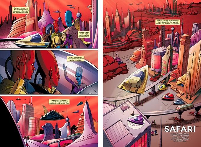 Martian Comics Volume 1: Moon to Moon