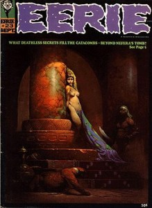 Eerie Magazine #23 - Egyptian Queen Cover by Frank Frazetta