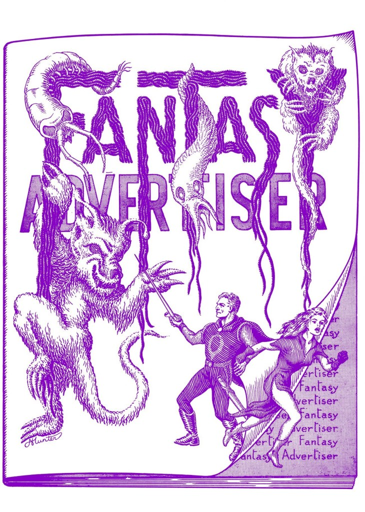 Fantasy Advertiser #32 Cover
