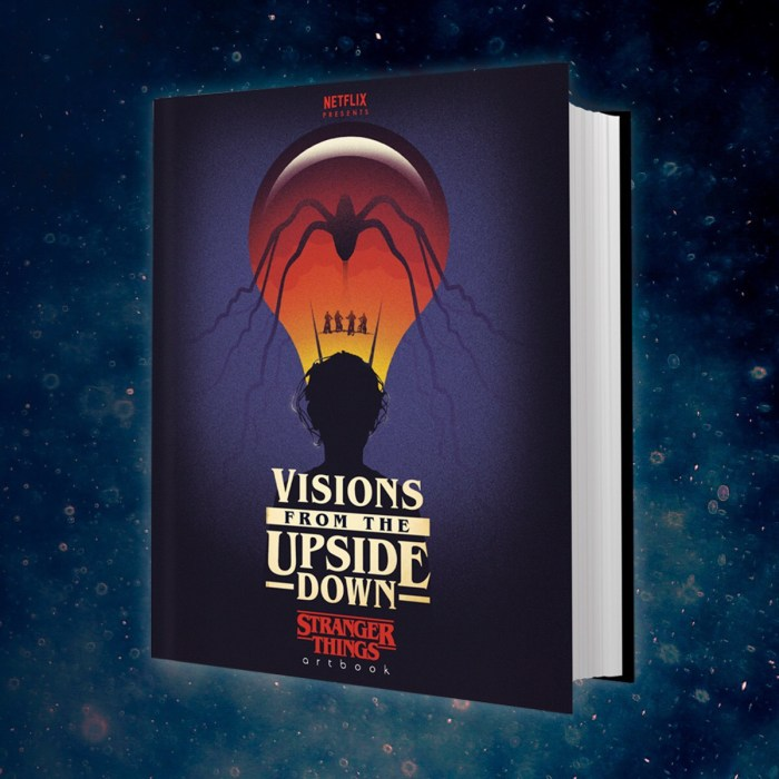 Visions from the Upside Down: Stranger Things Art Book - Cover