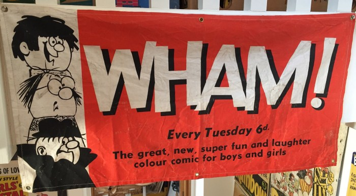 WHAM! Promotional Banner