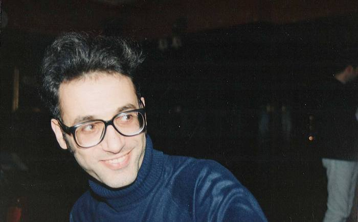 Bambos Georgiou in the 1990s, while an editor at Marvel UK of a huge range of projects. Photo: John Freeman