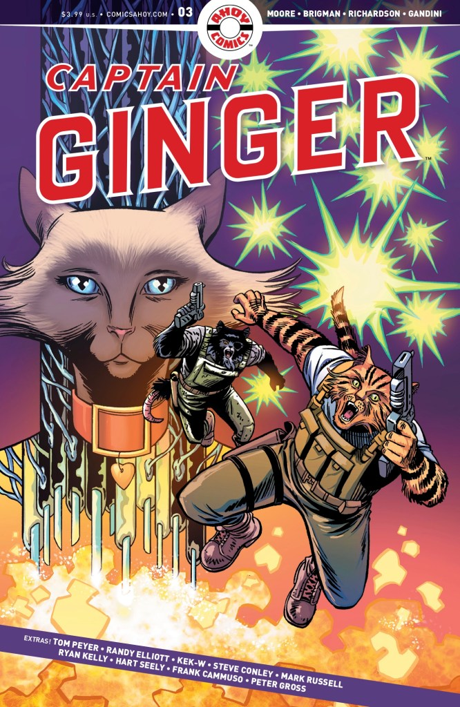 Captain Ginger #3 - Cover
