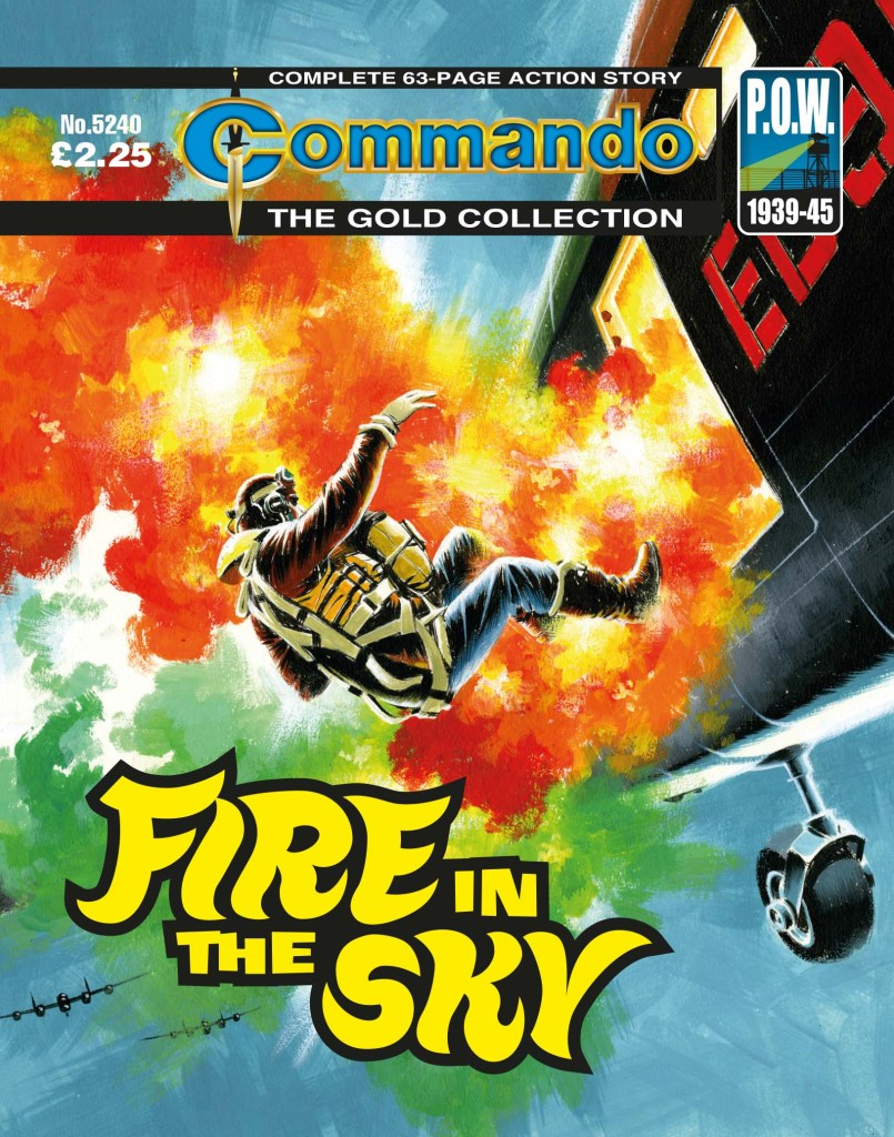 Commando 5240: Gold Collection - Fire in the Sky