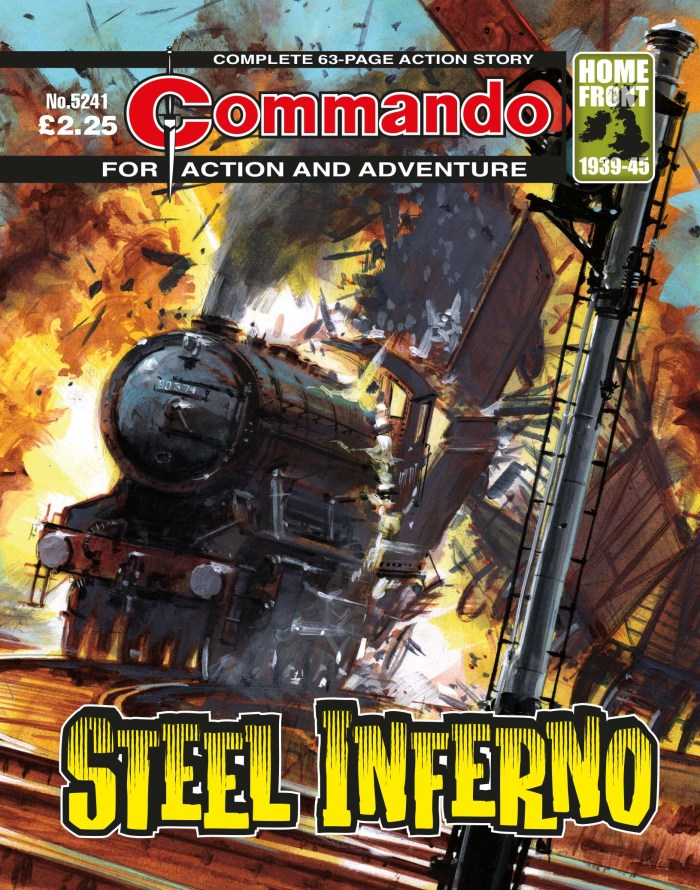 Commando 5241: Action and Adventure - Steel Inferno