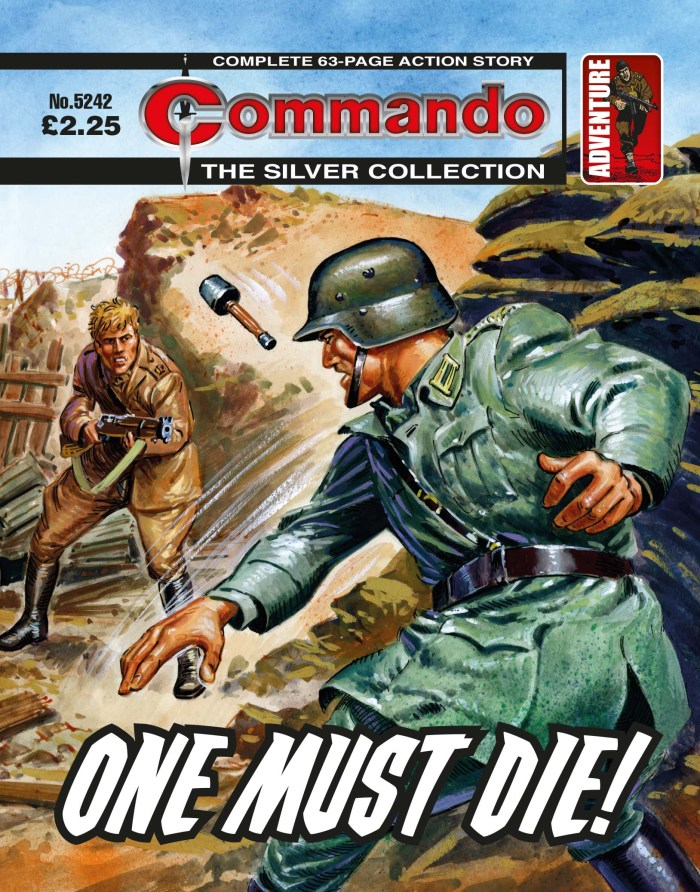 Commando 5242: Silver Collection - One Must Die!