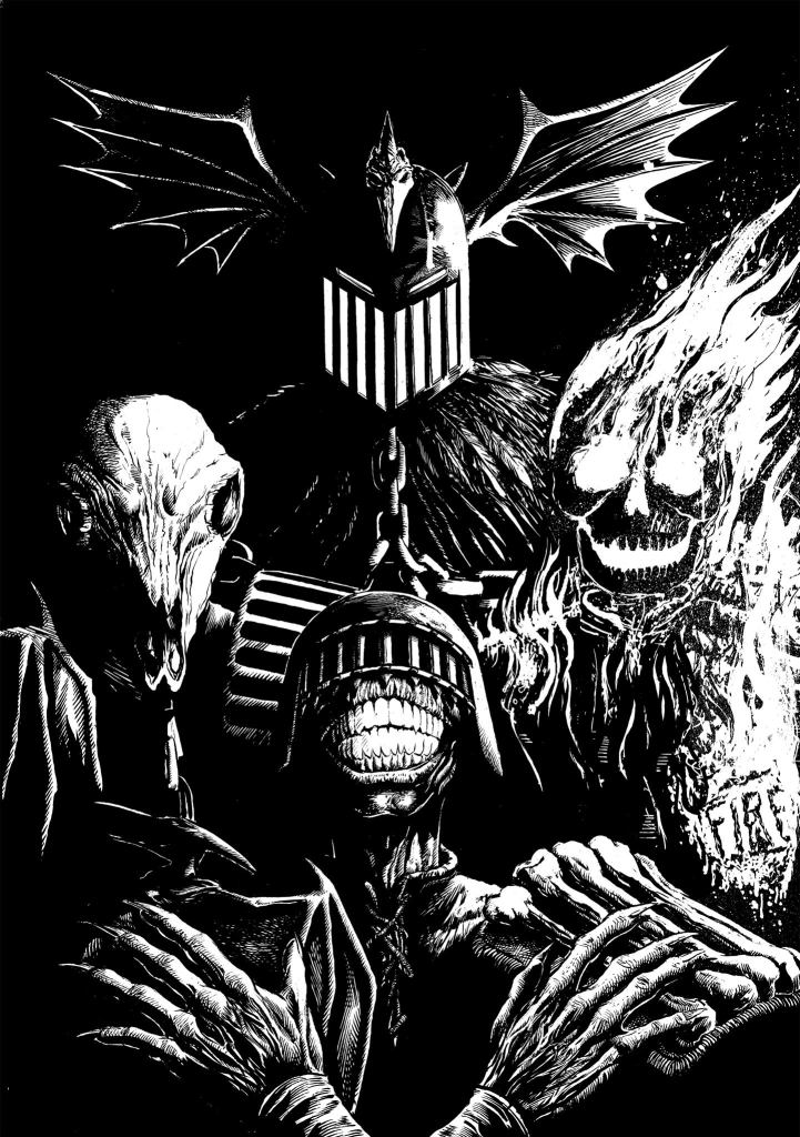 Dark Judges by Steven Austin