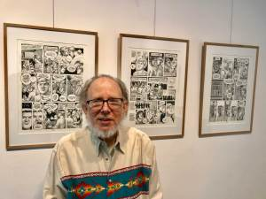 Creating Comics: A Video Interview with artist Howard Cruse