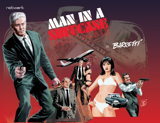 Man in a Suitcase: Volume 6 Blu-Ray Deluxe Edition - Comic