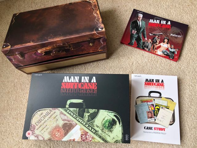 Man in a Suitcase: Volume 6 Blu-Ray Deluxe Edition