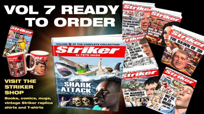 Striker - The Complete Collection Volume Seven Promotion