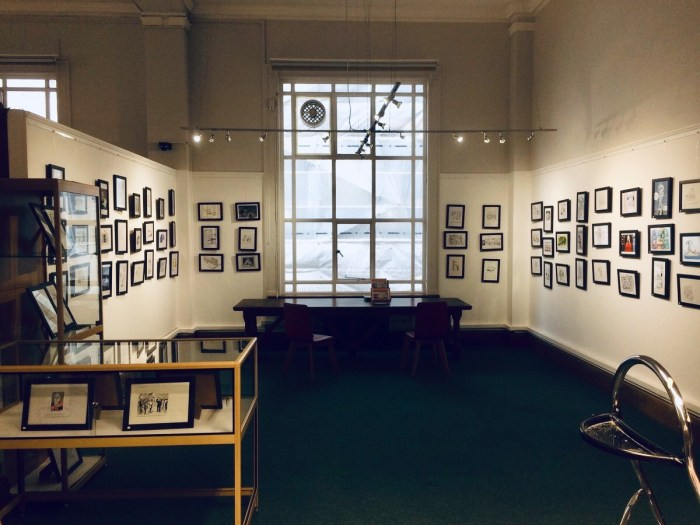 Bookmarks Exhibition- Westminster Reference Library 2019