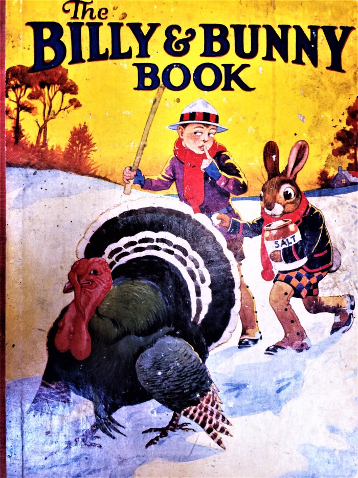 Billy and Bunny Book. Image courtesy Peter Hansen