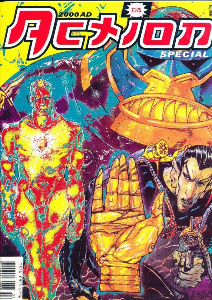 1992 2000AD Action Special