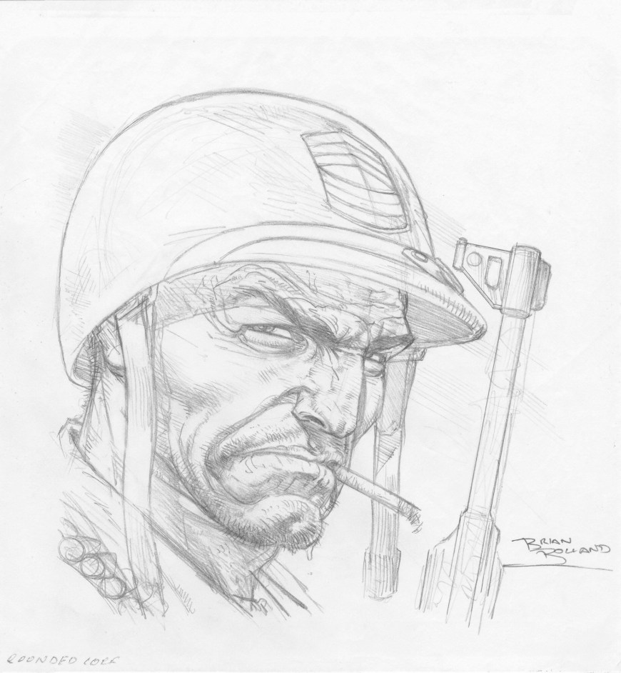 Sgt Rock by Brian Bolland - Pencils