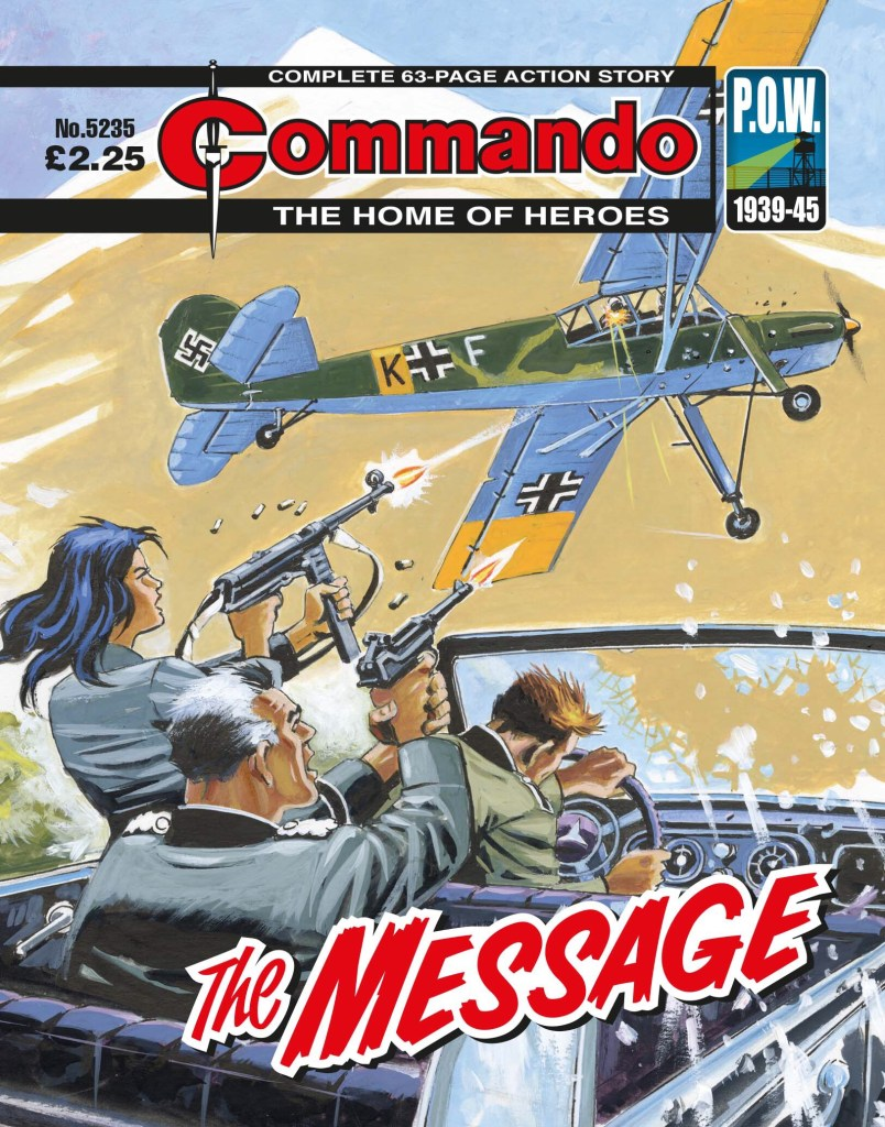 Commando 5235 Home of Heroes: The Message