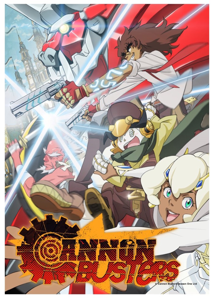 Cannon Busters - coming soon to Netflix