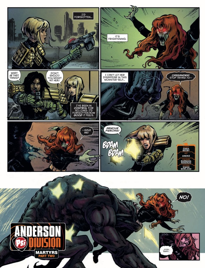 2000AD 2138: Anderson - Psi-Division » Martyrs (Part 2)