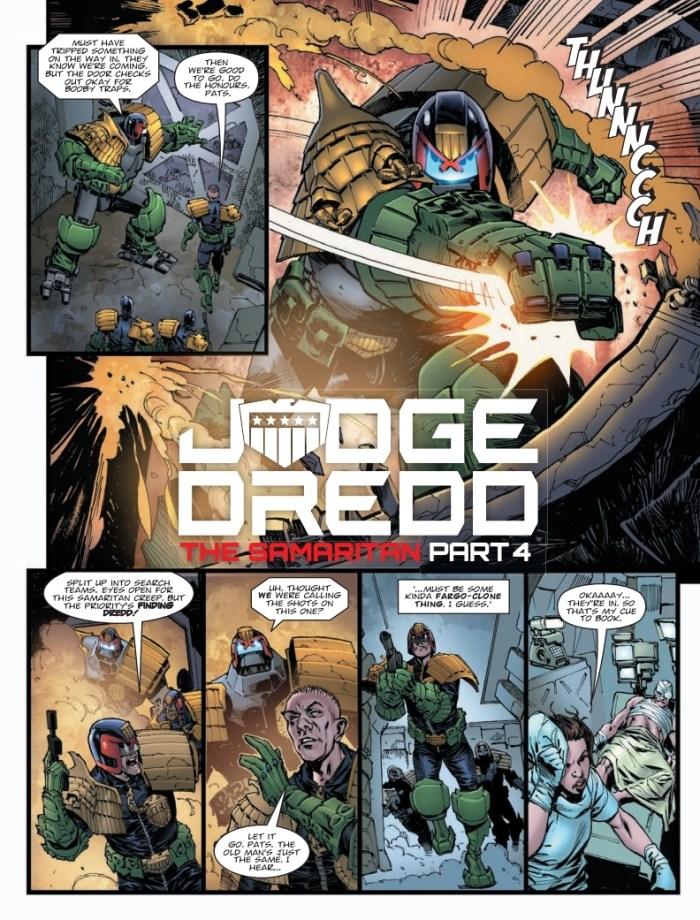 2000AD Prog 2139 -Judge Dredd