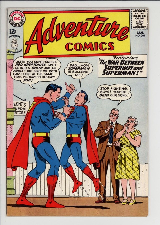 Adventure Comics #304 - Cover