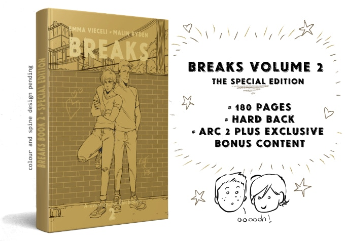 BREAKS 2: Special Edition - Emma Vieceli & Malin Ryden