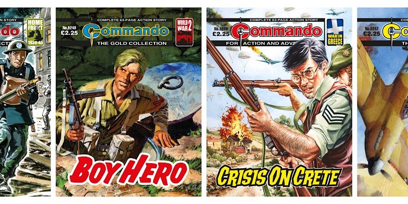 World War Two action all the way in new Commando comics