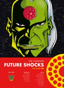 The Complete Future Shocks Volume 2 - Final Cover