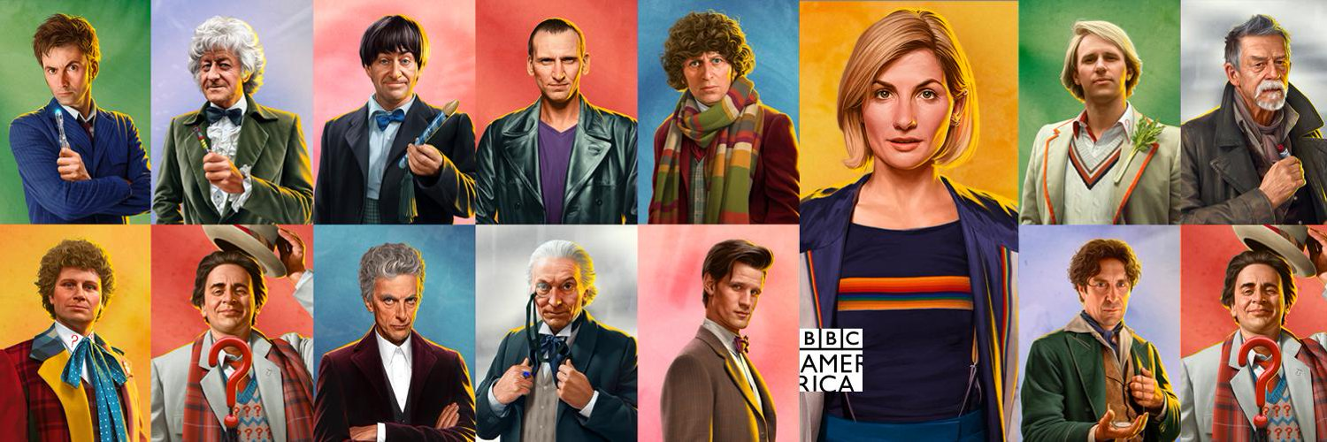 BBC release new Doctor Who portraits by Jeremy Enecio