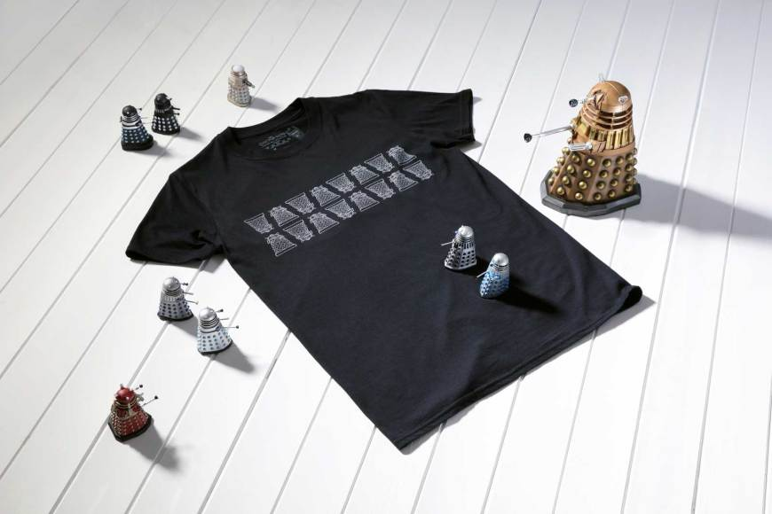 Hero Collector Doctor Who Dalek t-shirt 2019