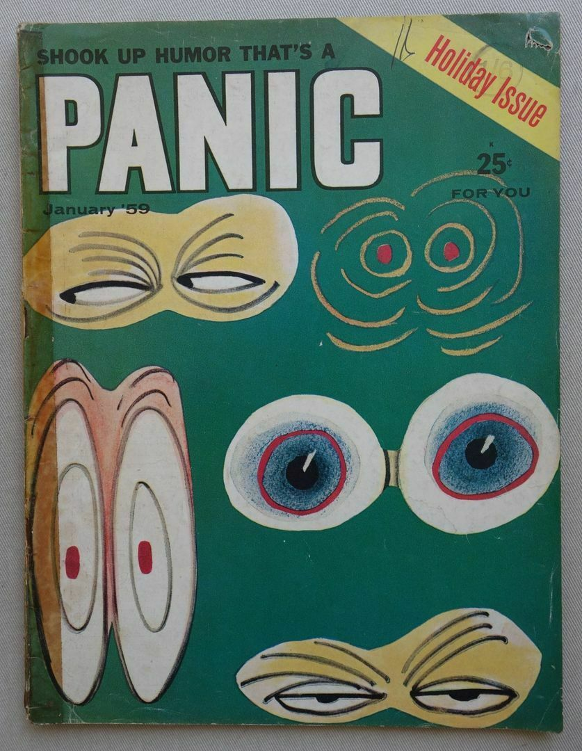 Panic Comic Magazine Vol 1 #4 - Jan 1959 Holiday Issue - from the Jim Baikie Collection
