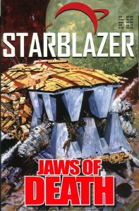 A reprint of Starblazer: Jaws of Death, believed to be a one-off for the US or Canadian market