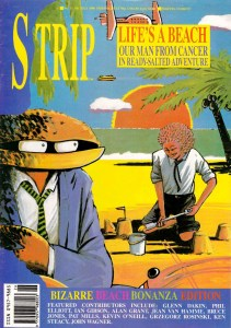 The Man from Cancer on the cover of STRIP! Issue 11