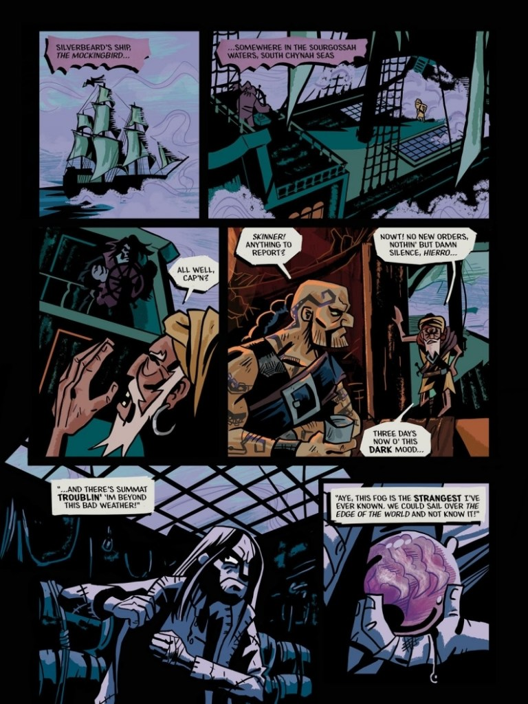 The Seven Sagas of Silverbeard - Hell-Bound Sample