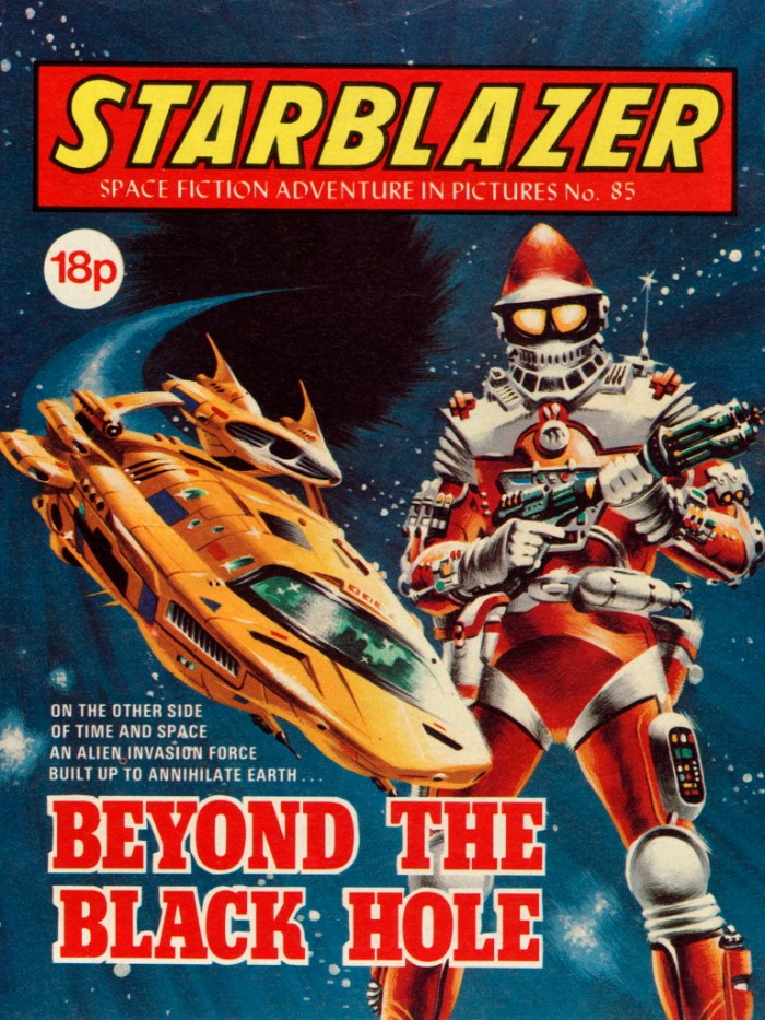 Starblazer 85: Beyond the Black Hole
