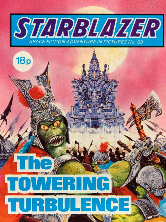 Starblazer 89: The Towering Turbulence