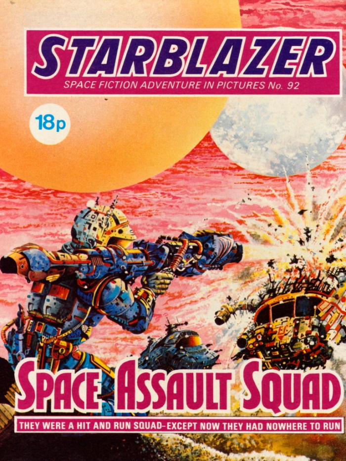 Starblazer 92: Space Assault Squad