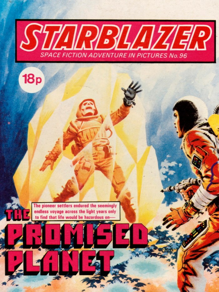 Starblazer 96: The Promised Planet